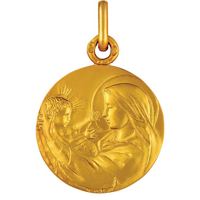 Médaille de baptême Nativité