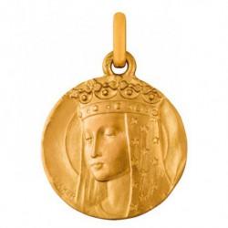 Médaille Vierge aux étoiles