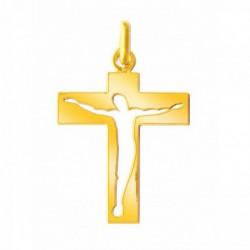 Pendentif croix Christ ajouré