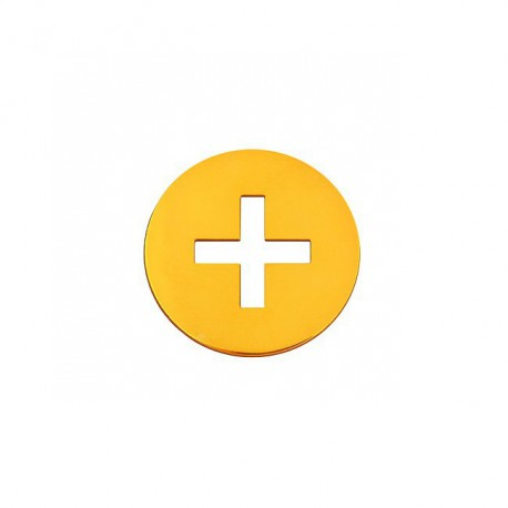 Mini rond croix latine