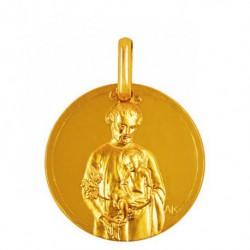 Médaille Saint Joseph au Lys