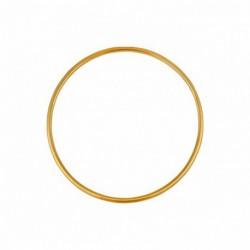 Bracelet jonc en or fil rond 2mm diamètre 55mm