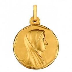 Médaille Vierge profil liseret