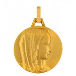 Médaille Vierge Étoilée