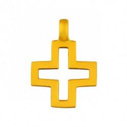 Pendentif croix ajourée