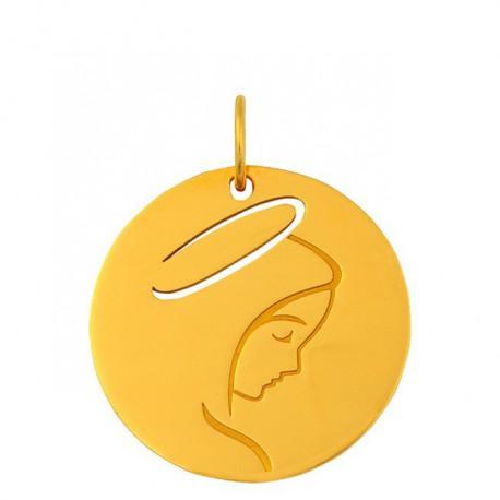 Médaille esquisse Vierge jeune