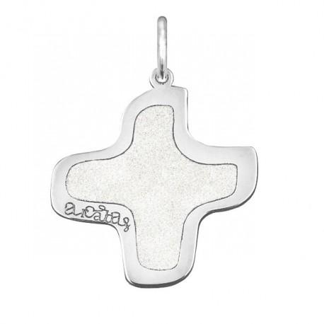 Croix Arcabas or blanc