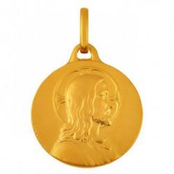 Médaille Christ de profil