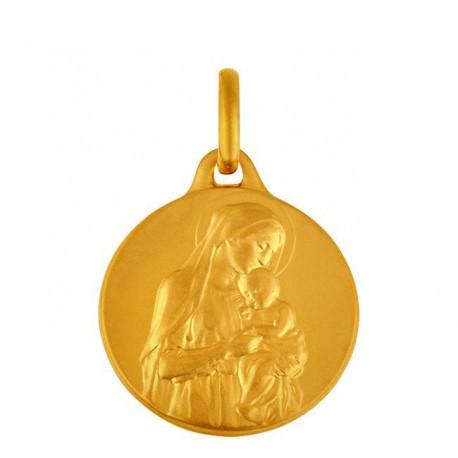Médaille Vierge et l'enfant 15mm