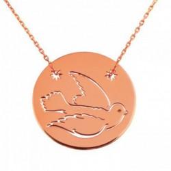 Médaille Paix sur chaine