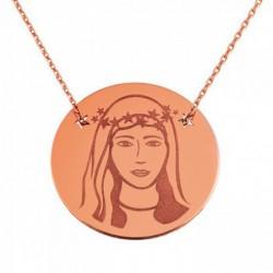 Médaille Ave Maria sur chaine