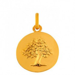 Médaille galet Arbre de vie