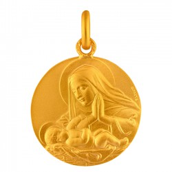 Médaille Vierge Adorant