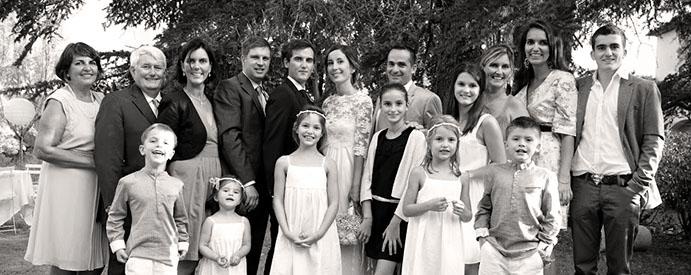 La famille Gonthiez en 2013