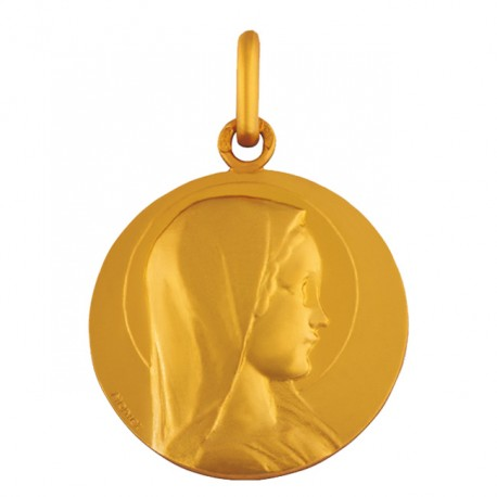 Médaille Vierge jeune Arthus Bertrand