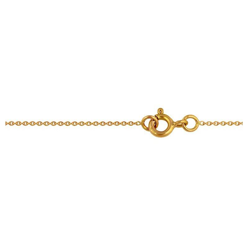Chaine forçat rond 45cm 2.2gr
