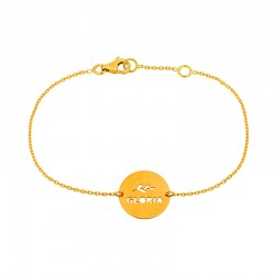 BRACELET MESSAGE TANTE MENOUE GLORIA