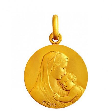 Médaille mater Dei 15mm