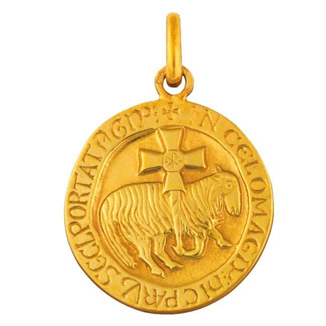 Médaille Agneau de Cluny 21mm