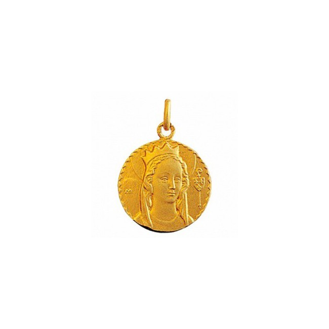 Médaille Vierge de Jouarre 21mm