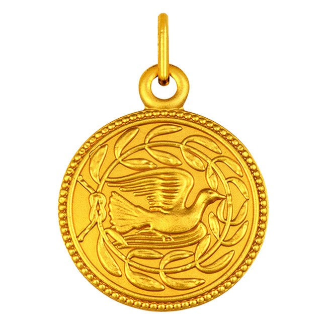 MEDAILLE COLOMBE LAURIERS