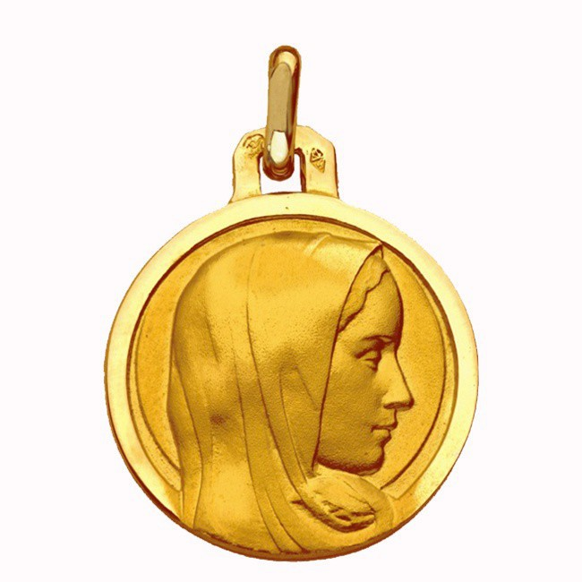 Médaille Vierge Sainte