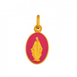 MEDAILLE VIERGE MIRACULEUSE ROSE