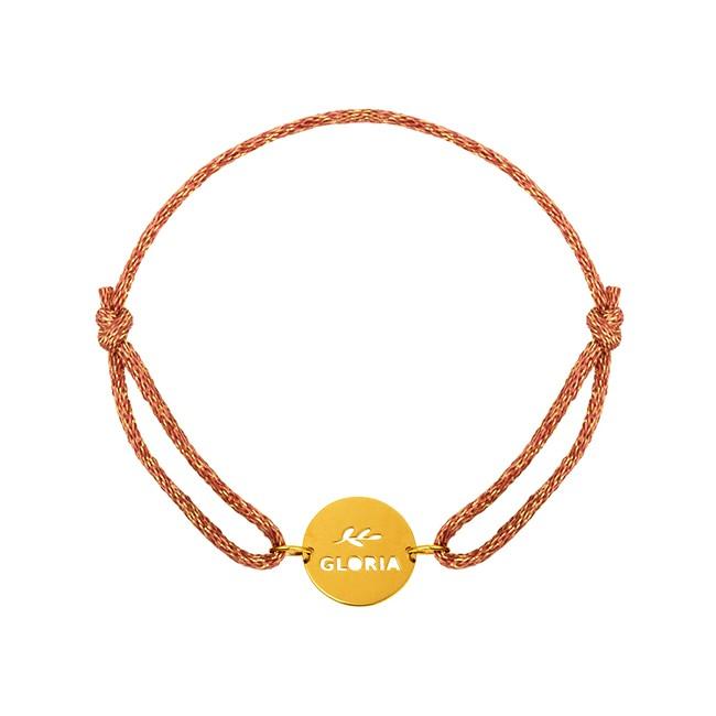 Bracelet cordon paillette Gloria