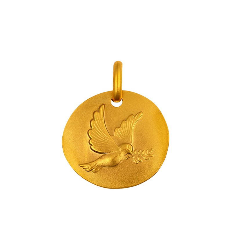 MEDAILLE GALET COLOMBE