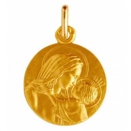 Médaille de baptême Notre Dame de la confiance