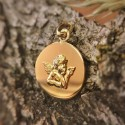 Medaille Ange Raphael galet