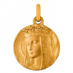 Médaille Vierge aux étoiles 18mm