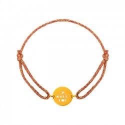 Bracelet cordon paillette Avec Toi Tante Menoue