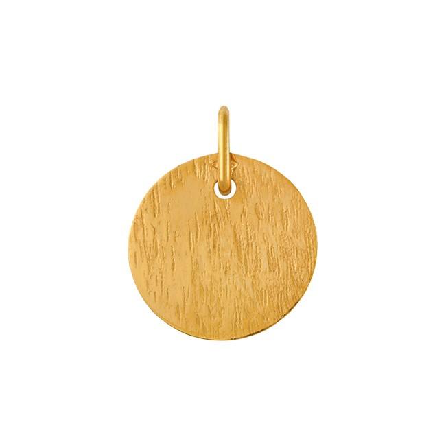 Médaille striée