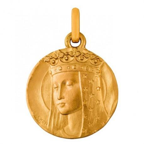 Médaille Vierge aux étoiles 20mm