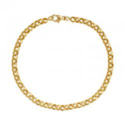 Bracelet maille jaseron 4,1mm