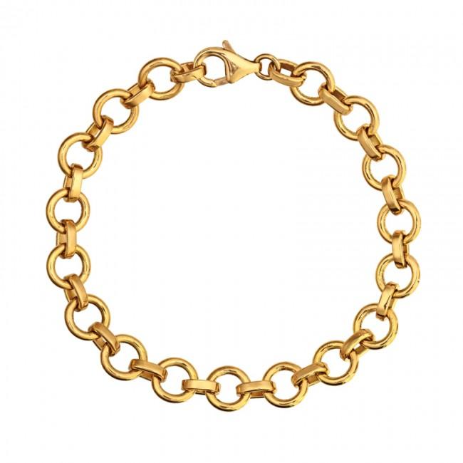 Bracelet maille ronde