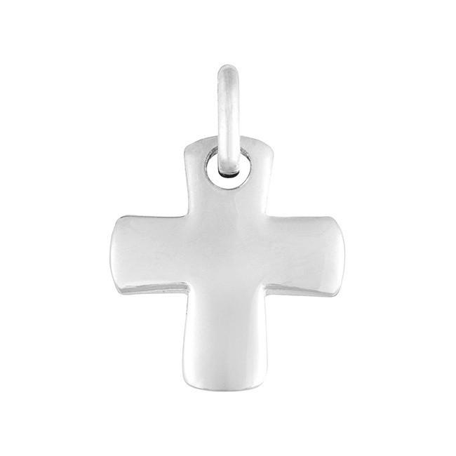 Croix Grecque or blanc