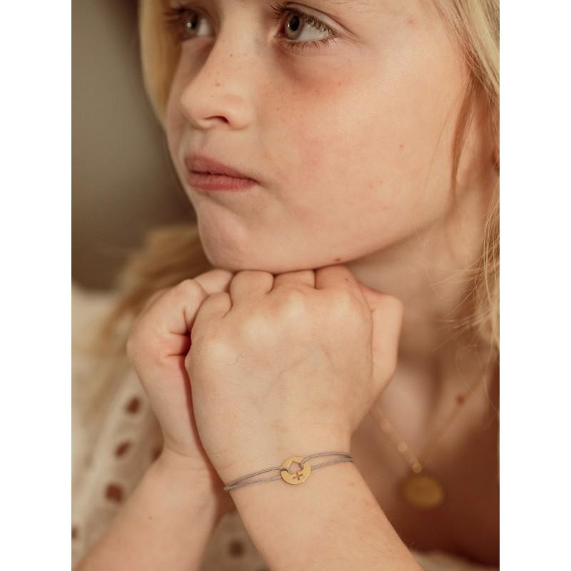 Bracelet sur cordon Mini sacre coeur