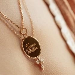 Medaille jeton perle