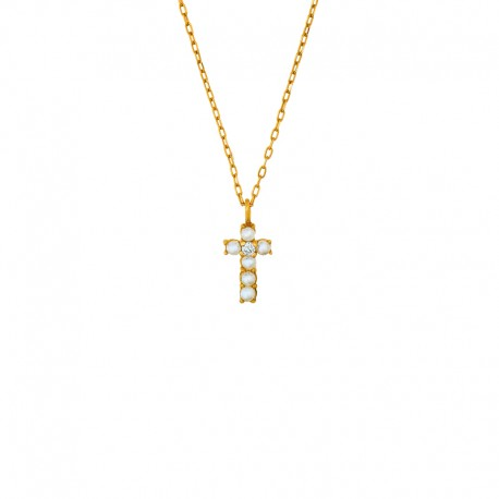 Collier croix  Sixtine