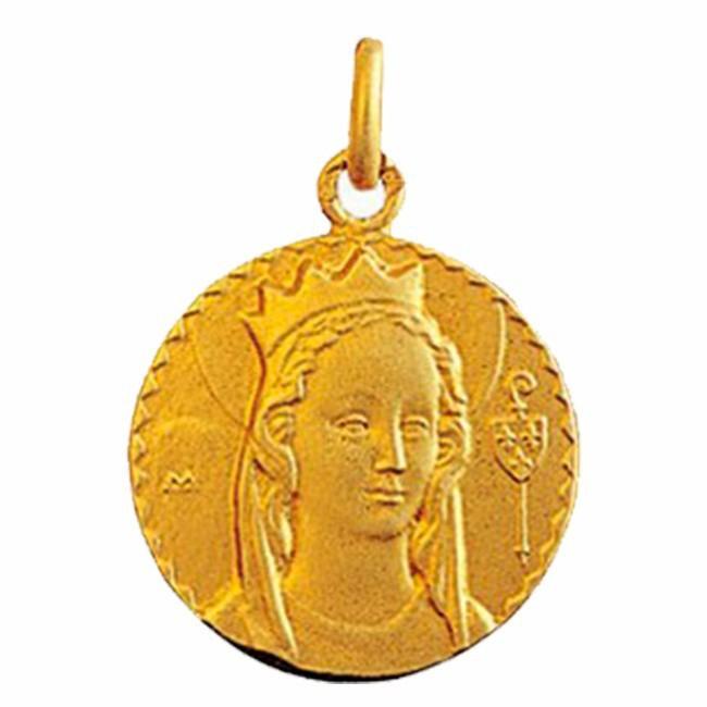 Médaille Vierge de Jouarre
