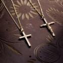 Pendentif croix latine large