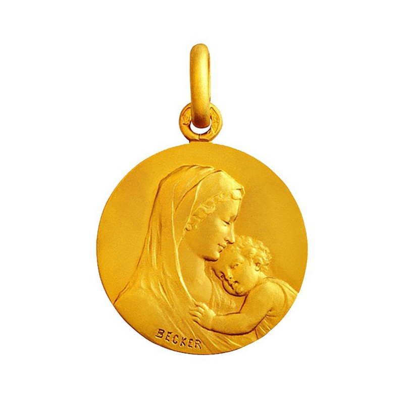 Médaille Mater Dei Becker
