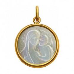Médaille ND du Bon Conseil nacre