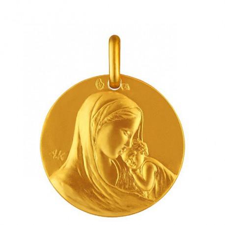 Medaille de bapteme Notre Dame de tendresse