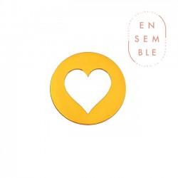 Mini rond coeur • ENSEMBLE