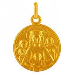 Medaille Notre Dame de la famille 22mm