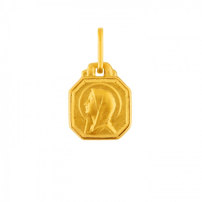 MINI MEDAILLE CARRE VIERGE