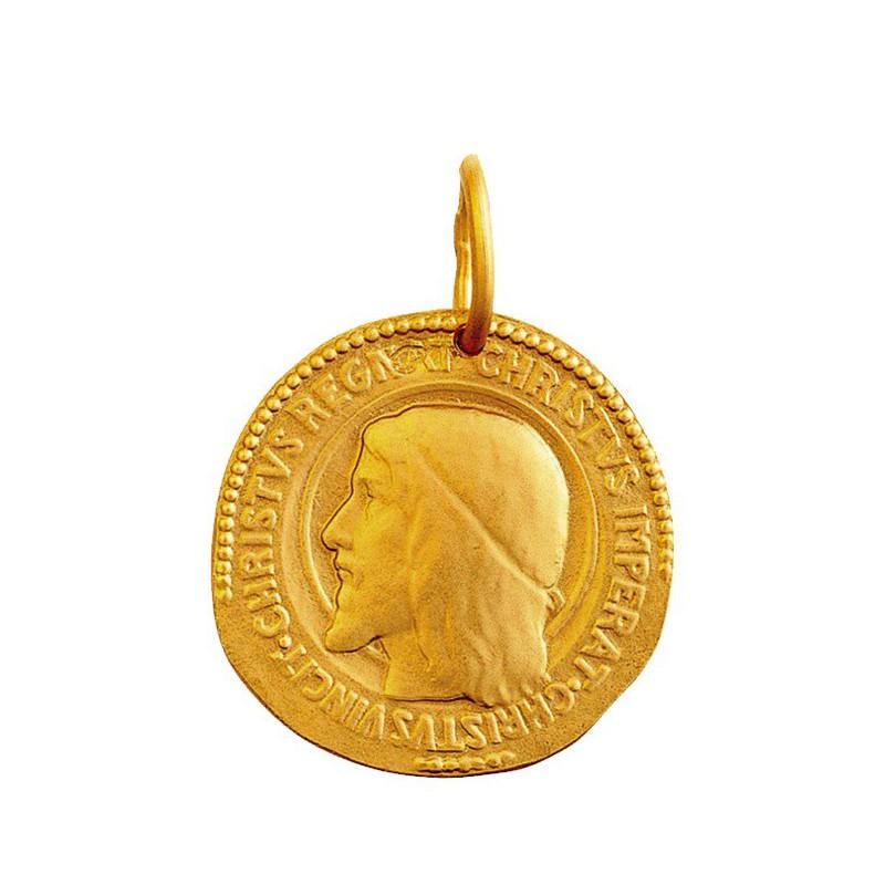 Medaille Christ Roi 18mm